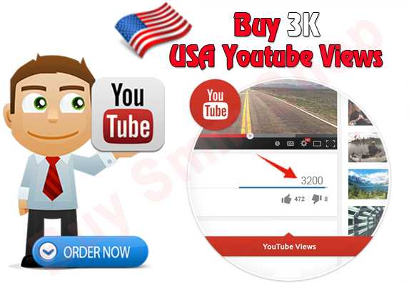 Buy USA Youtube video Views