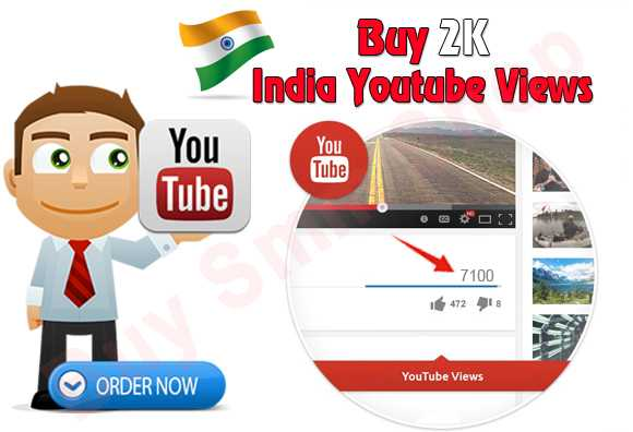 Buy India Youtube video Views