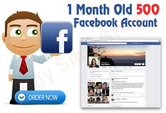 Buy 1 Month Old Facebook Account