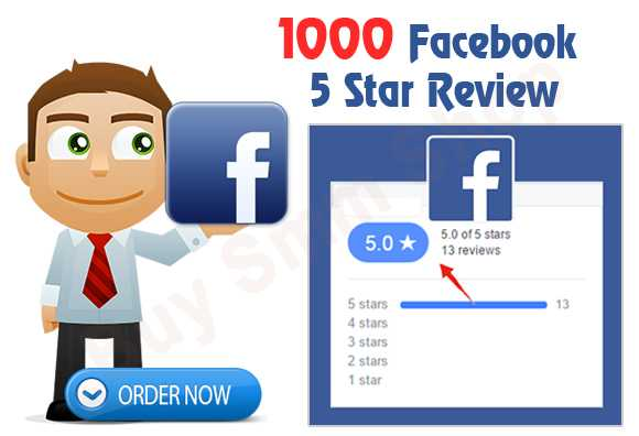 Buy Facebook Five Star Review
